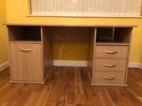 Desk for sale - 148cm x 67cm. Good condition