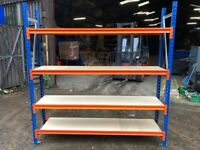 AR SHELVING LONGSPAN STORAGE CONTAINER RACKING SYSTEM BAY (Brentwood Branch)