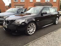 BMW 520D LCI M SPORT 2008 CARBON BLACK SPARES OR REPAIRS