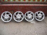 16' Mojo alloy wheels