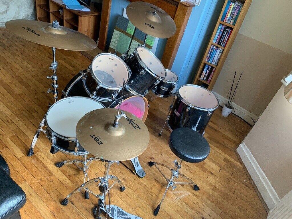 6 piece Mapex Drum Kit + Stands + 2 Zildjian Cymbals | in Great Barr, West  Midlands | Gumtree