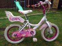 Girls bike for age 3-6 yrs