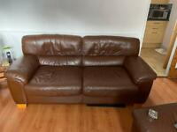 3 seater sofa, 1 chair, 1 foot stool
