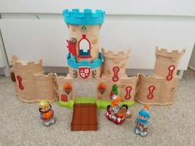 Happyland castle for sale with figures