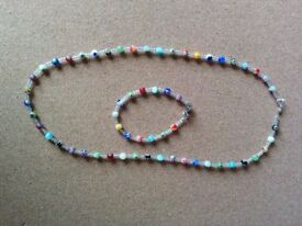 Set of handmade jewellery