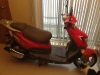 Scooter hyosung fs-50 2009 come neuf 35km