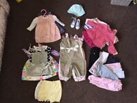 39Items Baby Girl Bundle Of Clothes 3-6months🎀