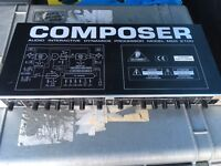 Amp., EQ and compressor