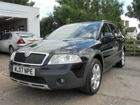 SKODA OCTAVIA 2.0 TDI PD SCOUT 5 DOOR - 12 months MOT - Station Garage 3 month warranty