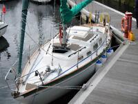 Shipman 28 Sailing Yacht Great Condn Banff Aberdeenshire