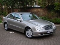 EXCELLENT EXAMPLE!! 52 REG MERCEDES-BENZ E CLASS 2.7 E270 CDI ELEGANCE 4dr AUTO 1 YEAR MOT, WARRANTY