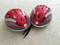 New cycle helmets