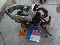 HONDA VFR 800 Fi ENGINE year 2000 £225 with Frame and V5 Tel 07870 516938 Anglesey