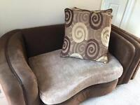Love seat/cuddle couch