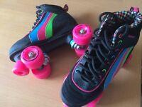 Girls/womens quad roller skates