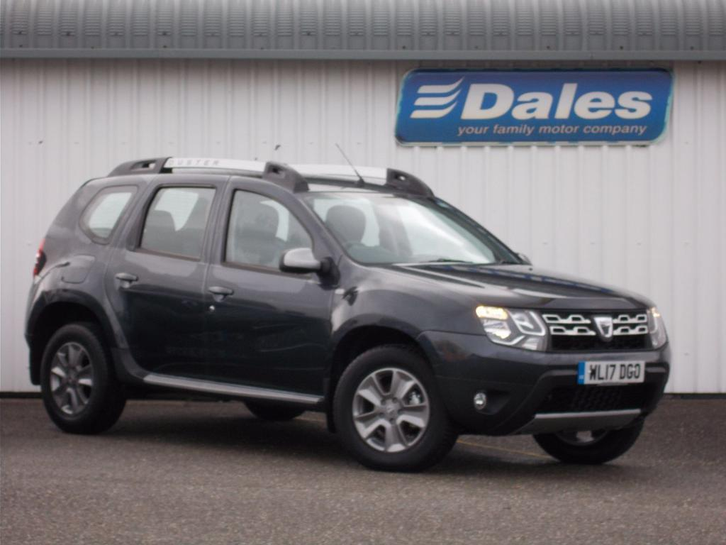 dacia duster 1 5 dci 110 laureate 5dr estate slate grey. Black Bedroom Furniture Sets. Home Design Ideas