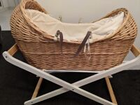 Excellent condition mothercare Moses basket.
