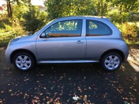 2006 Nissan Micra 1.3 5dr petrol Manual (1 YEARS MOT) (2 lady owners)
