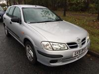Nisaan Almera with 6 months mot in good condition