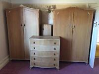 1950s bedroom set