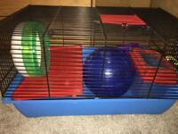 Hamster cage /ball etc