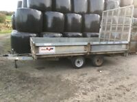 14ft drop side trailer
