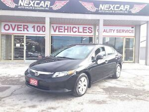 2012 Honda Civic LX AUT0 A/C CRUISE ONLY 97K
