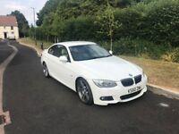 BMW 335i M Sport 2 Door Coupe White - New MOT