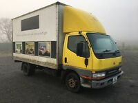 2001 (diesel) Mitsubshi canter box truck