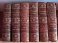 Encyclopaedia Britannica Ninth Edition 25 volumes late Victorian historical interest