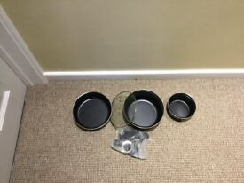Set of non stick camping pans, brand new