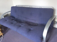 Blue sofa bed for 40 pound- LAST DAY