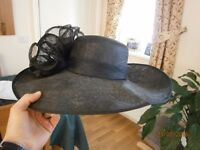 Black Formal Hat from House of Fraser