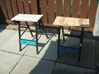 2 X MINI WORKMATE BENCHES