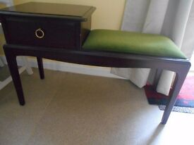 Stag Minstrel Telephone Table /Seat
