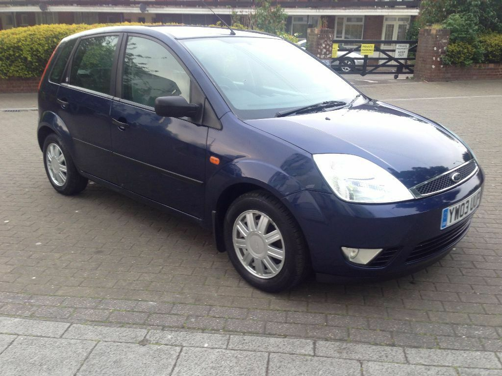 ford fiesta ghia auto 2003 blue 5 door 50 400 miles in. Black Bedroom Furniture Sets. Home Design Ideas