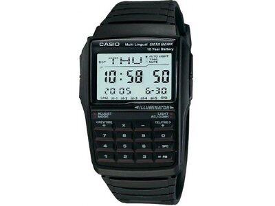 Casio Men's DBC32-1A Quartz Illuminator Calculator Black Resin Band 41mm Watch