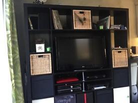 IKEA storage & TV Display