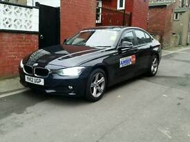 new f30 shape bmw,leeds taxi plated in excellent condition throughout