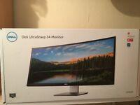 Dell U3415W Curved ultrawide (34inch ,3440x1440 ) Boxed