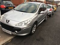 PEUGEOT 307 (2005) - 1.6 HDI - DIESEL - 11 MONTHS MOT - IMMACULATE