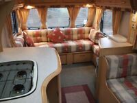 """""""""""BAILEY MOSELLE 4 BERTH CARAVAN WITH SPACIOUS L-SHAPE SEATING THIS IS IN OUT STANDING CONDITION"""""""""""