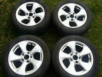 16 inch 5x120 genuine BMW alloys wheels. Trafic / Vivaro.