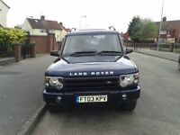 land rover discovery2 td5... 2003 model.. manual