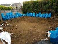 Top soil - 50p per bag