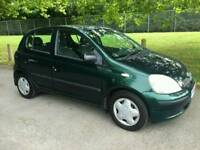 TOYOTA YARIS 5DOOR 1 OWNER FROM NEW 10SERVICE'S MOT TILL21/9/2018 HPI CLEAR EXCELLENT CONDITION