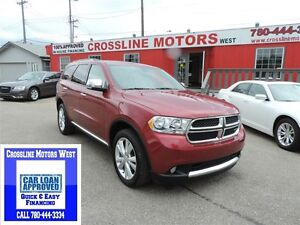 2013 Dodge Durango CREW FULLY LOADED LEATHER,ROOF,NAVI,DVD