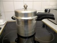 Nearly New Prestige Hi-Dome Pressure Cooker, 6 litre, 10/15 psi, Aluminium, in Pontardawe