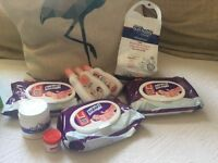 Bundle of baby Toiletries Bennetts nappy cream, lotion, nappy sack nw6/ Gunnesbury