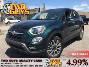 2016 Fiat 500X Trekking AWD PANORAMIC ROOF CLOTH & LEATHER